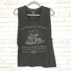 Urban Outfitters Graphic Muscle Tank